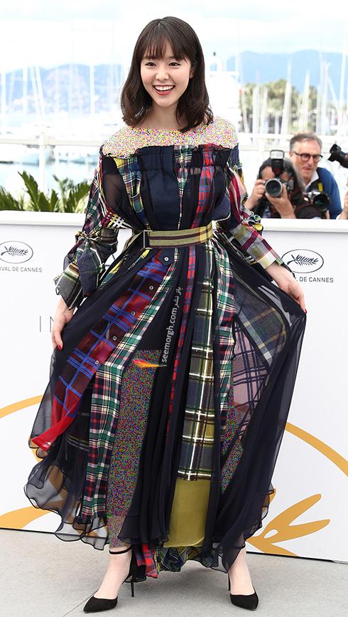 مدل لباس اریکا کاراتا Erika Karata در فتوکال هشتمین روز جشنواره کن 2018 Cannes