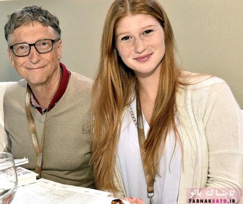 بیل گیتس و دخترش