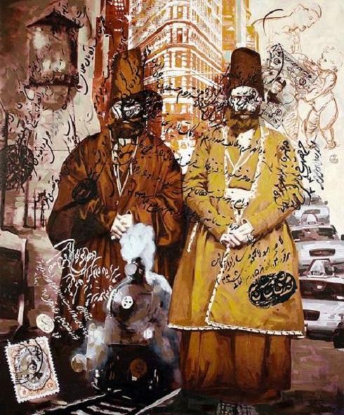 نمایشگاه ضیافت قاجاری 2