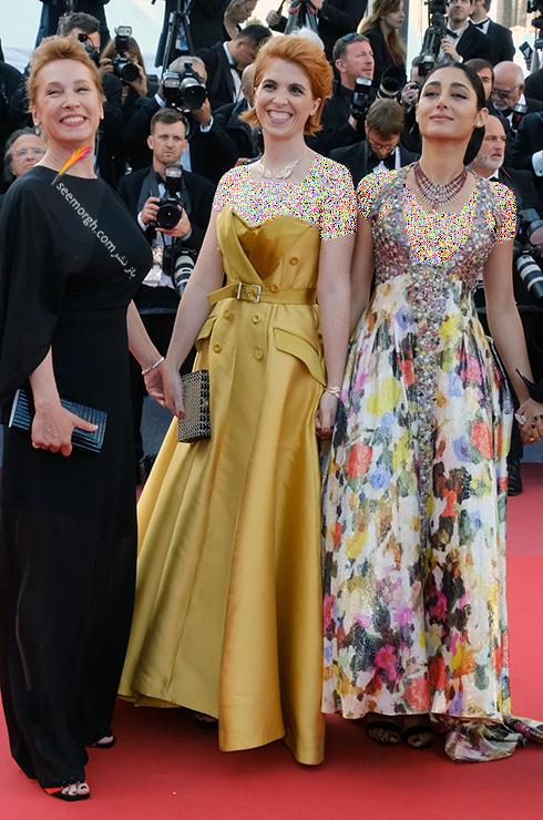 مدل لباس در روز پنجم جشنواره کن 2018 Cannes - گلشیفته فراهانی Golshifte farahani