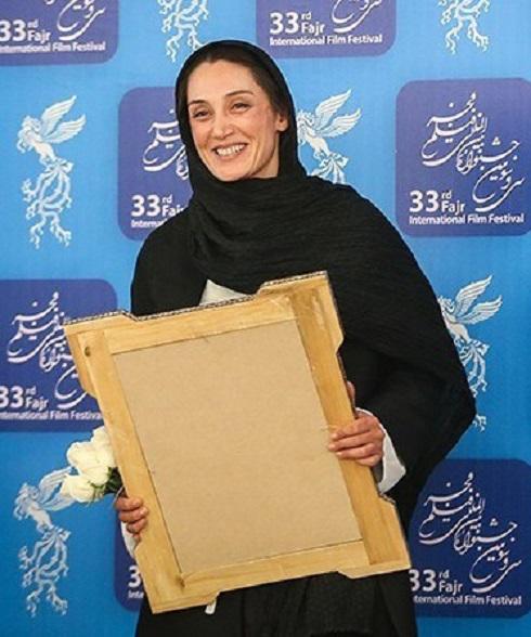 هدیه تهرانی در جشنواره بین المللی فیلم فجر