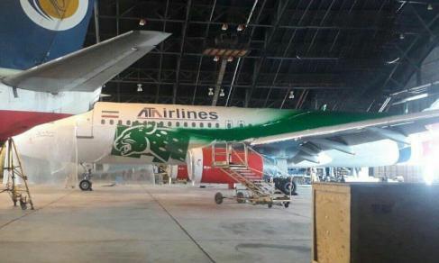 هواپیما تیم ملی ایران برای جام جهانی