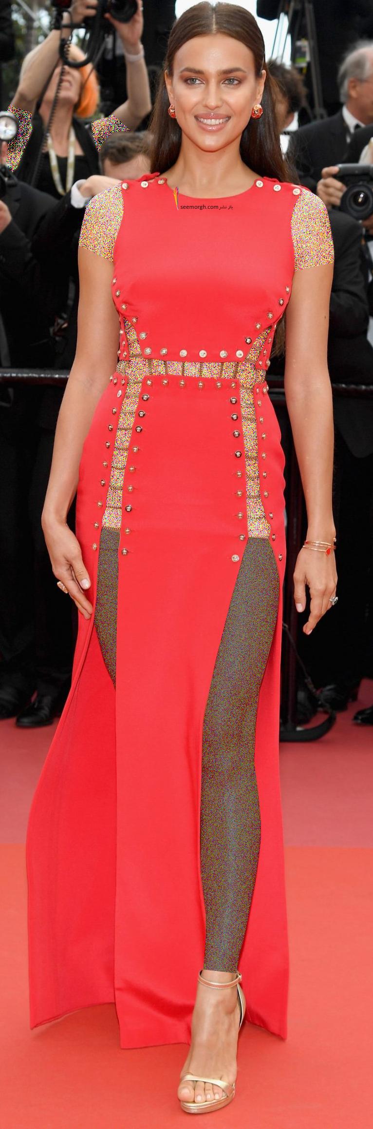 مدل لباس در روز سوم جشنواره کن 2018 Cannes - ایرینا شایک irina shayk