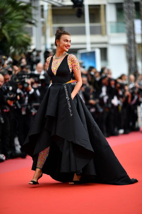 مدل لباس در روز دوم جشنواره کن 2018 Cannes - ایرینا شایک Irina Shayk