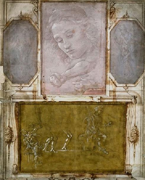 صفحهای از کتاب بزرگ نقاشیهای جورجیو وازاری