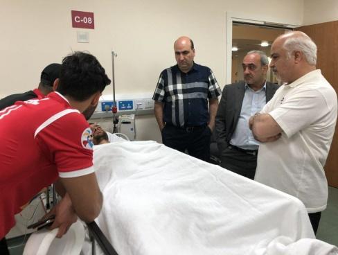 بستری شدن کمال کامیابی نیا در بیمارستان
