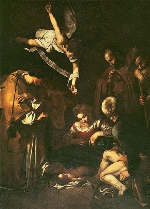 تولد عیسی از کاراواجو