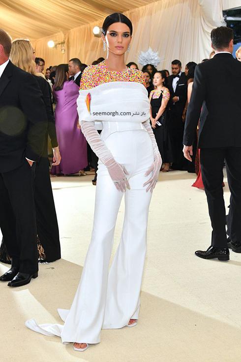 مدل لباس های برتر در مراسم مت گالا Met Gala 2018 -کندال جنر Kendall Jenner