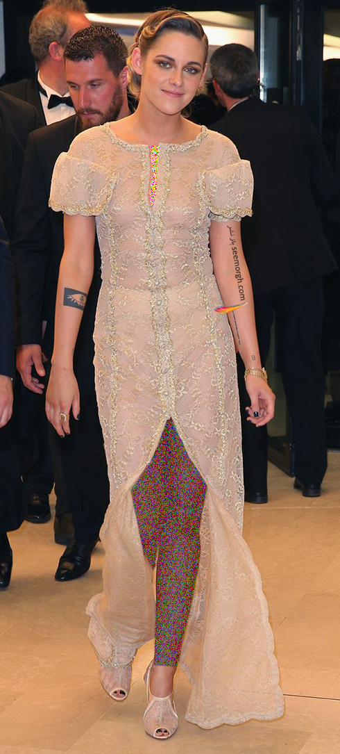 مدل لباس کریستین استورات Kristen Stewart در اختتامیه جشنواره کن 2018 Cannes