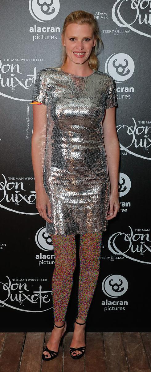 مدل لباس لارا استون Lara Stone در اختتامیه جشنواره کن 2018 Cannes
