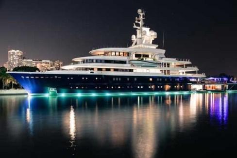 لونا قایق 540 میلیون دلاری