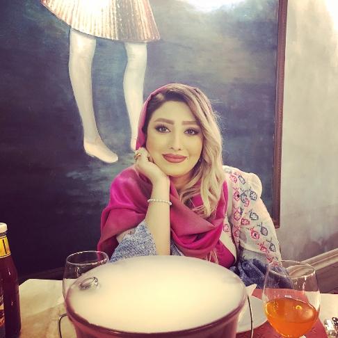 چهره مهسا کاشف در سریال آنام