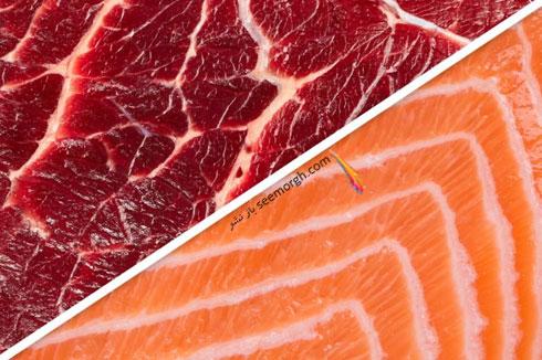 کاهش وزن فوق العاده با جایگزین کردن گوشت گاو با ماهی