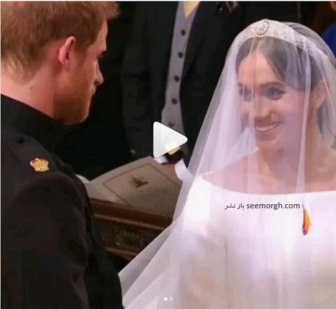 مراسم عروسی مگان مارکل  Meghan Markle و پرنس هری Prince Harry - عکس شماره 7