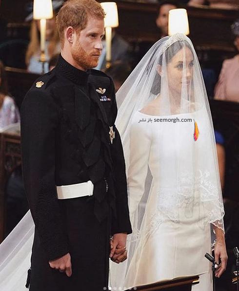 مراسم عروسی مگان مارکل  Meghan Markle و پرنس هری Prince Harry - عکس شماره 4