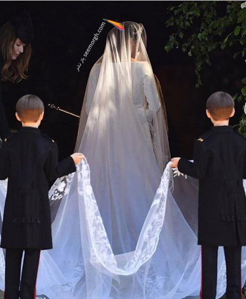 مراسم عروسی مگان مارکل  Meghan Markle و پرنس هری Prince Harry - عکس شماره 3
