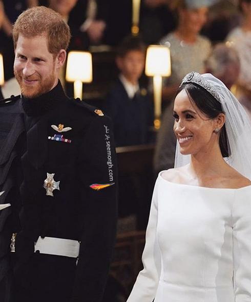 مراسم عروسی مگان مارکل  Meghan Markle و پرنس هری Prince Harry - عکس شماره 1