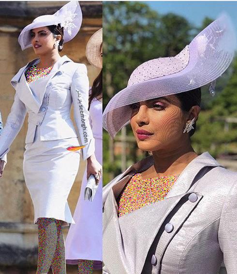 پریانکا چوپرا در مراسم عروسی مگان مارکل Meghan Markle و پرنس هری Prince Harry