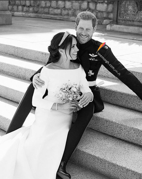 عکس مجلس خصوصی عروسی مگان مارکل Meghan Markle و پرنس هری Prince Harry - شماره 3