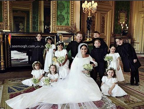 عکس مجلس خصوصی عروسی مگان مارکل Meghan Markle و پرنس هری Prince Harry - شماره 1