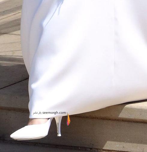 کفش عروسی مگان مارکل Meghan Markle از برند ژیوانشی