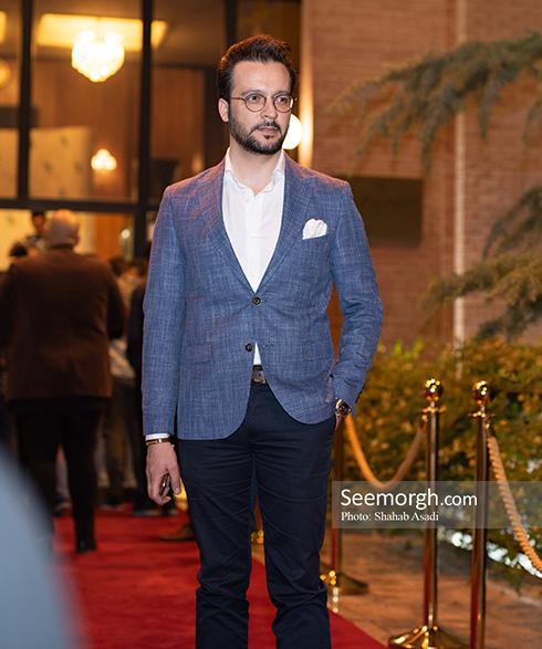 محمد سلوکی در ضیافت افطاری خیریه مهر لیلا