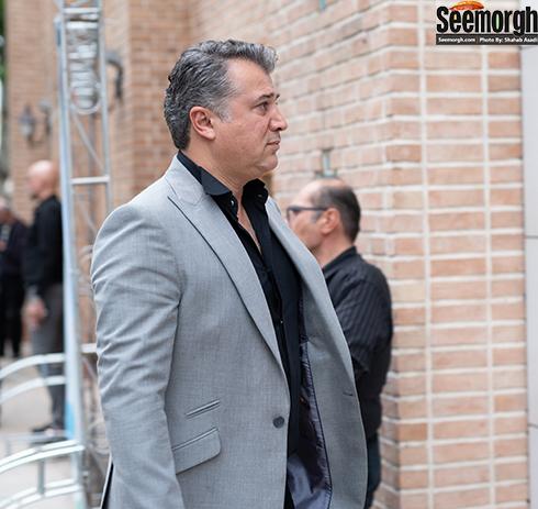 محمدرضا عیوضی  در مراسم یادبود ناصر چشم آذر