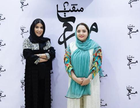 نرگس محمدی و رز رضوی در سالن زیبایی دوست مشترکشان+ عکس