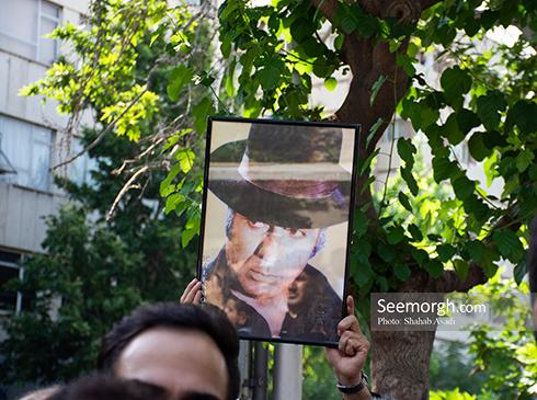 مراسم تشییع ناصر ملک مطیعی