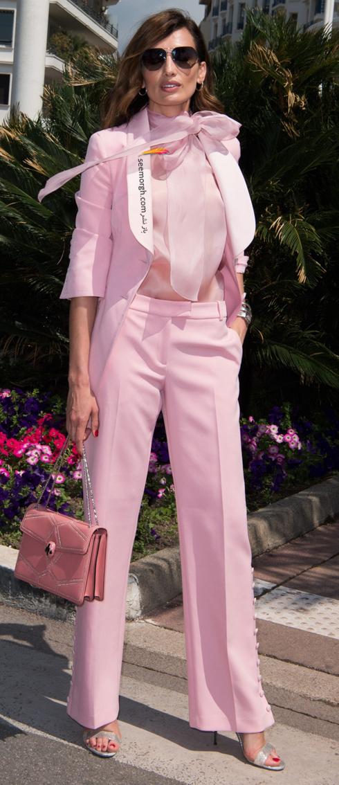 مدل لباس در روز سوم جشنواره کن 2018 Cannes - نیوس آلوارس Nieves Alvares