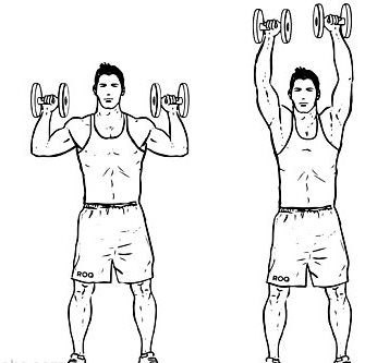 کاهش وزن سریع با پرس شانه