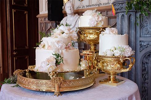 کیک مراسم عروسی مگان مارکل Meghan Markle و پرنس هری Prance Harry