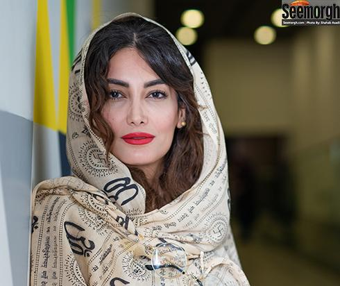 مهسا باقری در مراسم اکران خصوصی فیلم رفتن