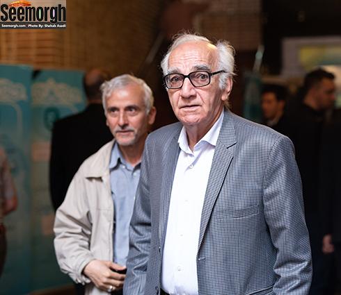 رضا بنفشه خواه  در مراسم یادبود ناصر چشم آذر