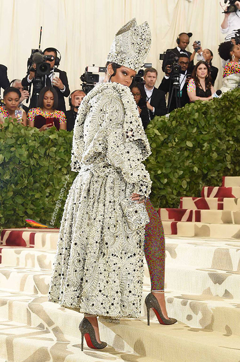 مدل لباس های برتر در مراسم مت گالا Met Gala 2018 - ریحانا Rihanna