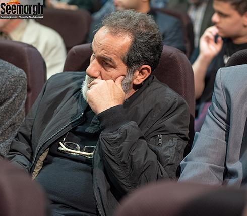 سعید سهیلی  در مراسم یادبود ناصر چشم آذر