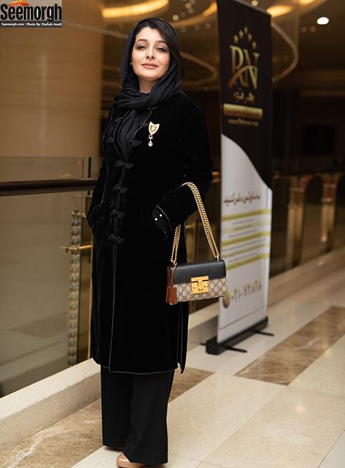 ساره بیات در اکران خصوصی چهار راه استانبول