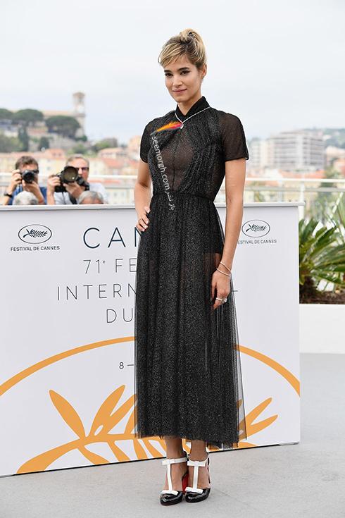مدل لباس در روز پنجم جشنواره کن 2018 Cannes - سوفیا بوتلا Sofia Boutella