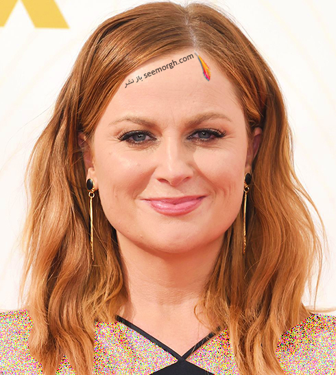 رنگ مو بلوند توت فرنگی به پیشنهاد امی پولر Amy Poehler