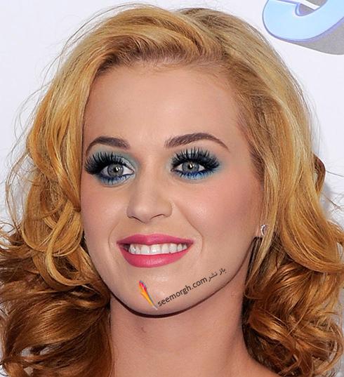 رنگ مو بلوند توت فرنگی به پیشنهاد کیتی پری katy perry
