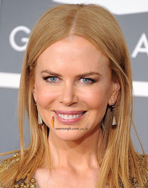 رنگ مو بلوند توت فرنگی به پیشنهاد نیکول کیدمن Nicole Kidman