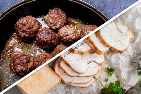 کاهش وزن فوق العاده با جایگزین کردن گوشت