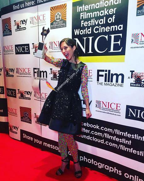 زهرا امیرابراهیمی برنده جایزه بهترین بازیگر زن در جشنواره نیس فرانسه