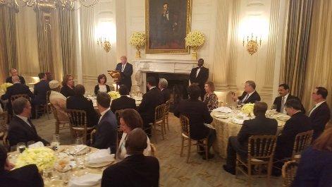 مراسم افطار ترامپ در کاخ سفید