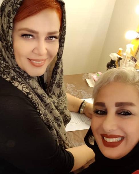 بهاره رهنما و طراح لباس عروسی اش