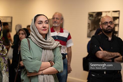 هانیه توسلی, عکس هانیه توسلی, هانیه توسلی در نماییشگاه عکس نگار مسعودی