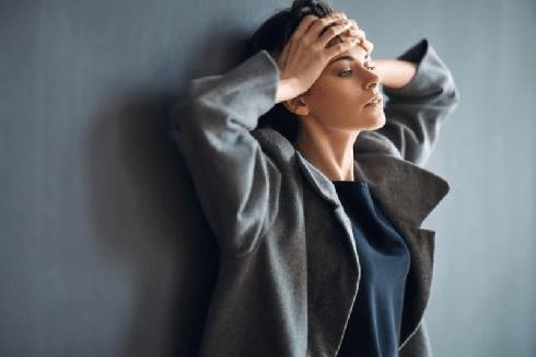 استرس,اضطراب,زن مضطرب