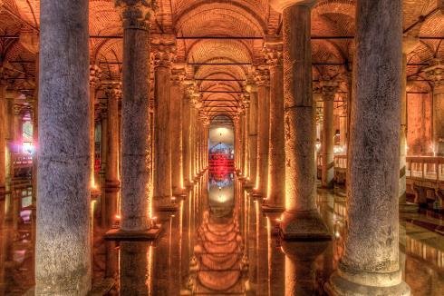 آب انبار باسیلیکا,جاذبه های استانبول,مکان های تاریخی