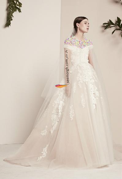 لباس عروس 2018 از برند الی ساب لباس Elie Saab برای بهار و تابستان - مدل شماره 12