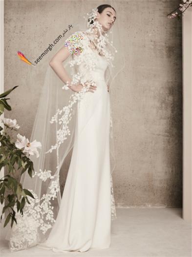 لباس عروس 2018 از برند الی ساب لباس Elie Saab برای بهار و تابستان - مدل شماره 11